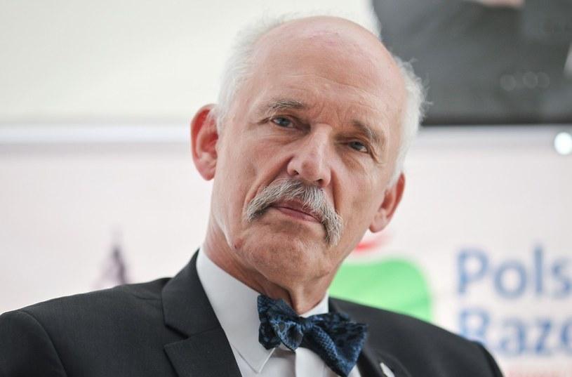 Janusz Korwin-Mikke /MAREK BARCZYŃSKI /East News