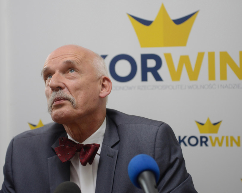 Janusz Korwin-Mikke /Jakub Kamiński   /PAP