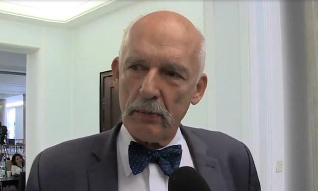 Janusz Korwin-Mikke /INTERIA.PL