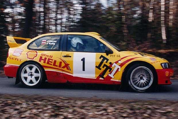 Janusz Kulig - Seat Cordoba WRC (kliknij) /INTERIA.PL