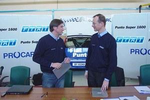 Janusz Kulig w Punto Super 1600!