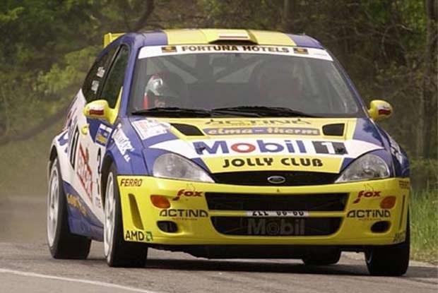 Janusz Kulig w Rajdzie Bułgarii startował Focusem WRC w specyfikacji '99 /INTERIA.PL