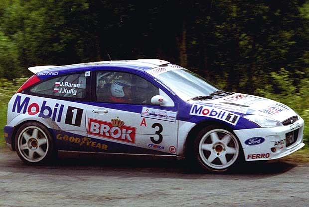 Janusz Kulig wystartuje Fordem Focusem WRC /INTERIA.PL