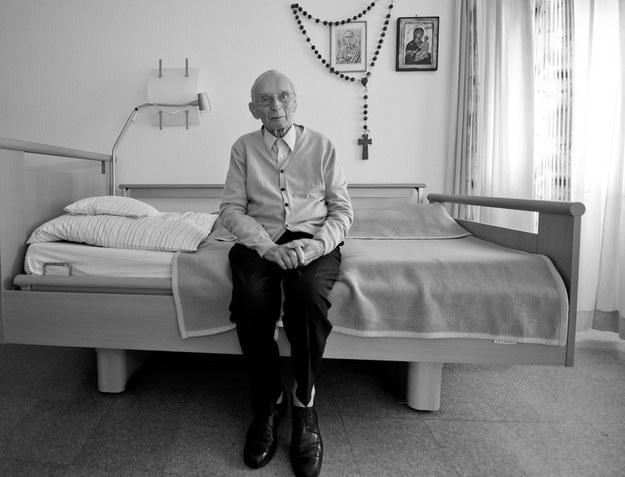 Janusz Młynarski, więzień pierwszego transportu do KL Auschwitz /PIOTR TRACZ/REPORTER /East News