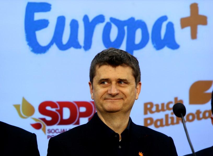 Janusz Palikot /Tomasz Gzell /PAP
