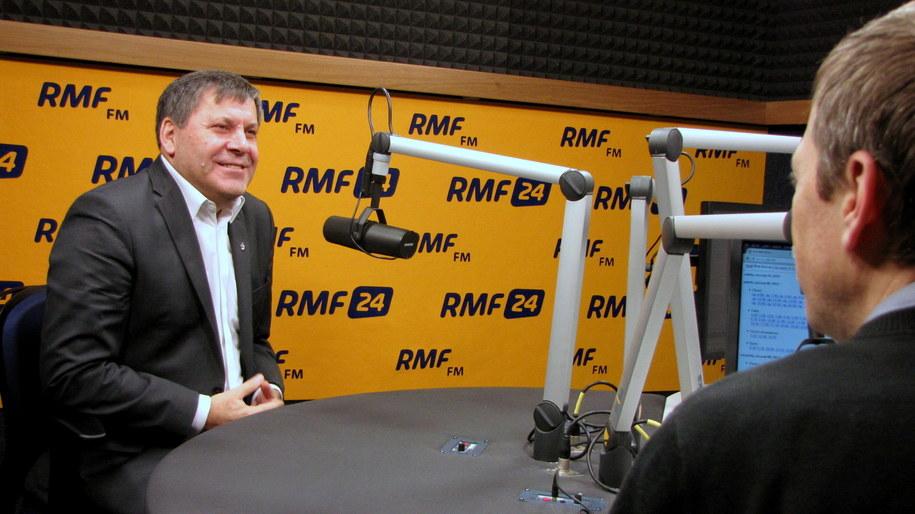 Janusz Piechociński był gościem Kontrwywiadu RMF FM /Kamil Młodawski /RMF FM