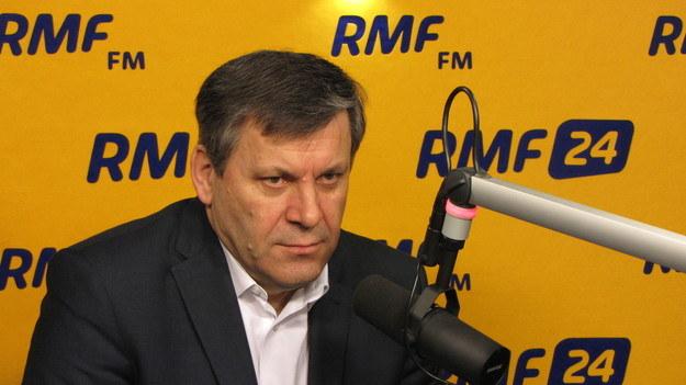 Janusz Piechociński /RMF