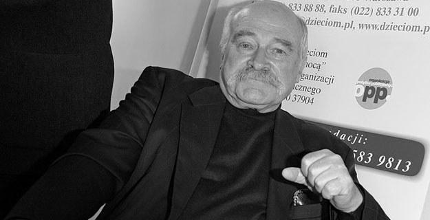Janusz Zakrzeński (1936-2010) /AKPA
