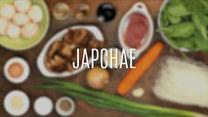 Japchae – koreańskie danie z wołowiną