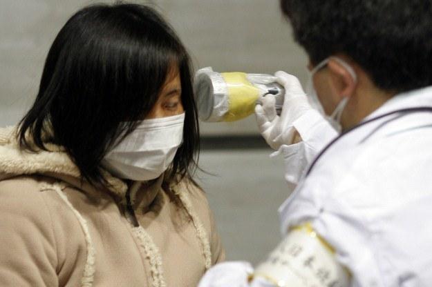 Japończycy mają coraz większy problem ze skażeniem /AFP