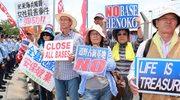 Japończycy nie chcą amerykańskich baz. Tysiące osób wyszło na ulice