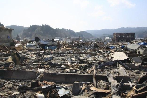 Japoński krajobraz po trzęsieniu ziemi /©123RF/PICSEL