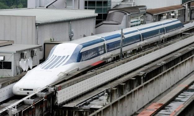 Japoński Maglev /AFP