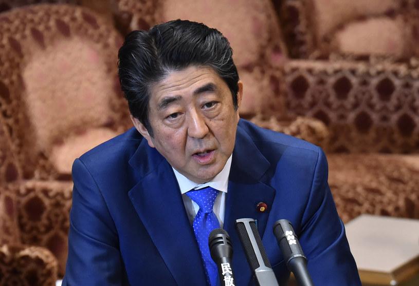 Japoński premier Shinzo Abe /KAZUHIRO NOGI /AFP