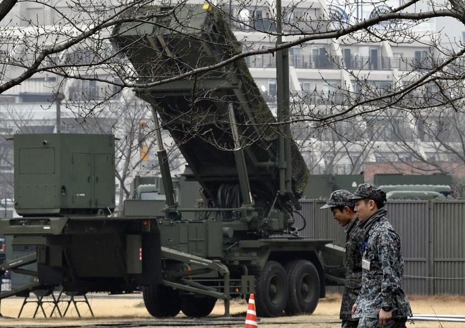 Japoński system pocisków przechwytujących, nakierowany na zwalczanie północnokoreańskich rakiet /FRANCK ROBICHON /PAP/EPA