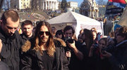 Jared Leto na Majdanie