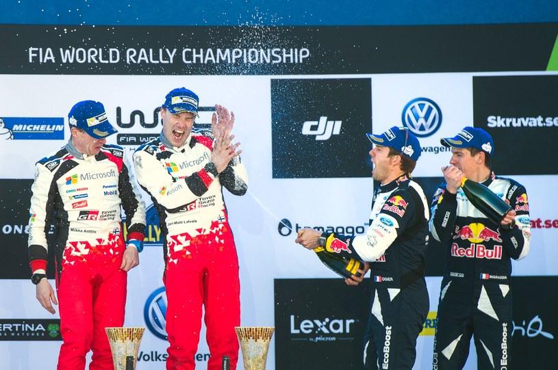 Jari-Matti Latvala wygrał w Szwecji /AFP
