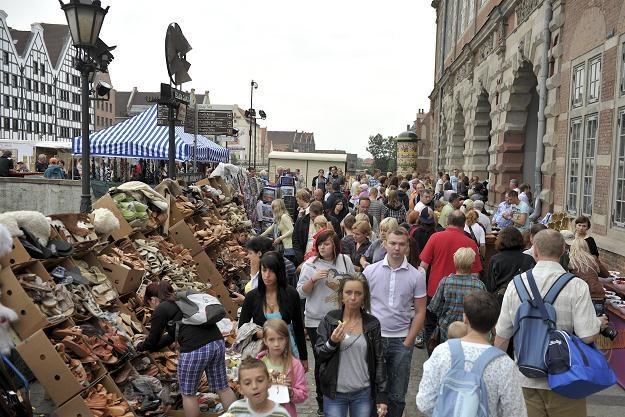 Jarmark św. Dominika na ulicach Gdańska / fot. A. Warżawa /PAP