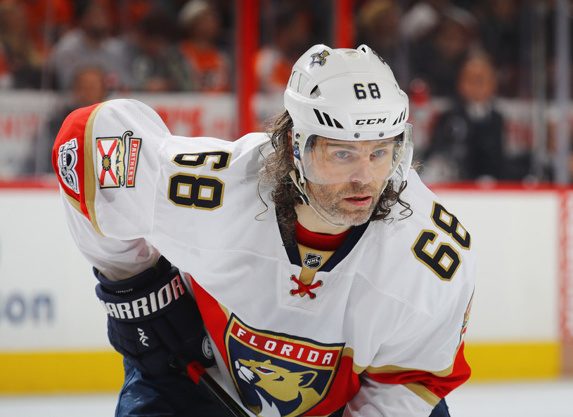 Jaromir Jagr /Bruce Bennett /Getty Images