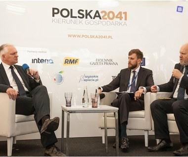 Jarosław Gowin, wicepremier, minister nauki i szkolnictwa wyższego w specjalnym studiu Interii