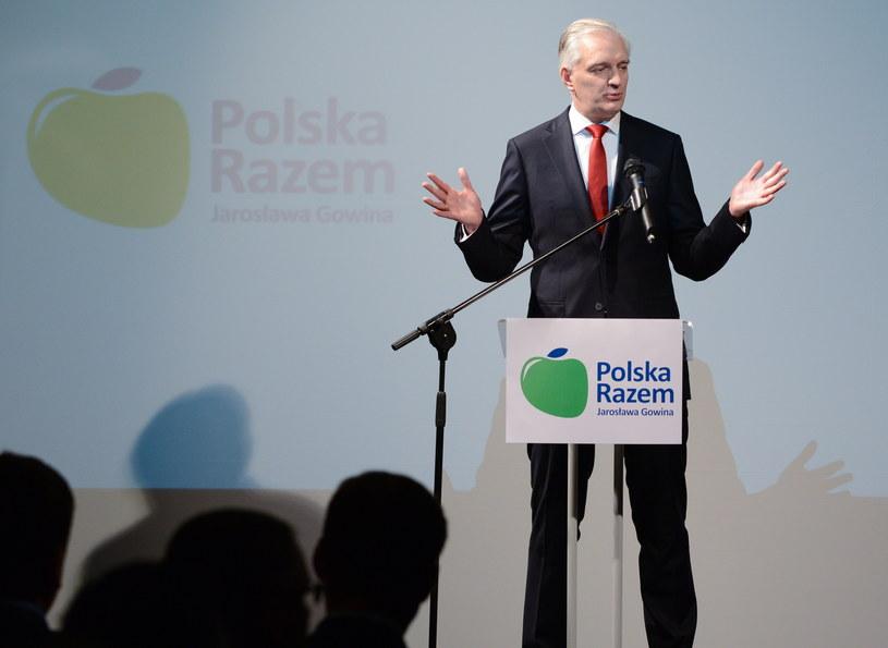 Jarosław Gowin /Jakub Kamiński   /PAP