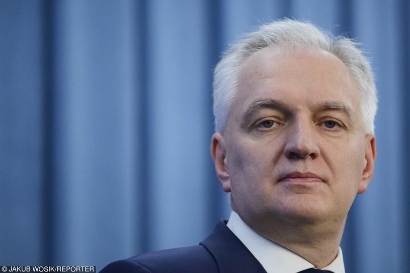 Jarosław Gowin /JAKUB WOSIK/REPORTER /East News