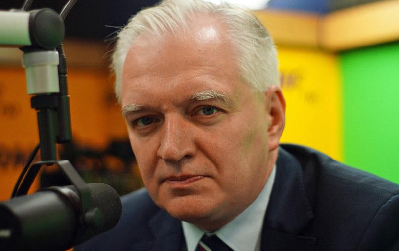 Jarosław Gowin /Michał Dukaczewski /RMF