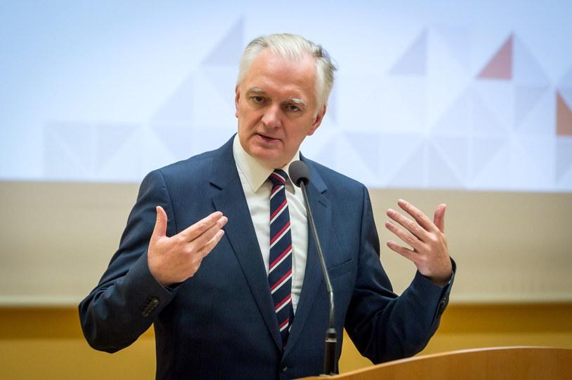 Jarosław Gowin /Tytus Żmijewski /PAP