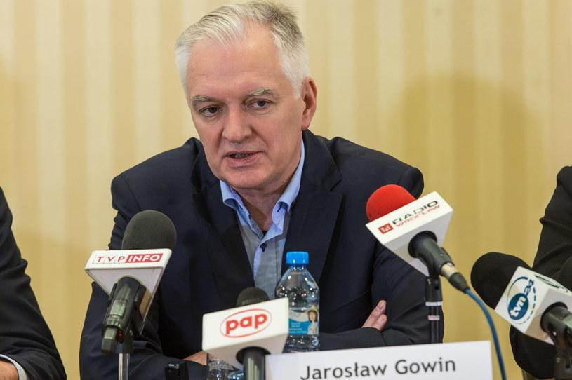 Jarosław Gowin /Maciej Kulczyński /PAP
