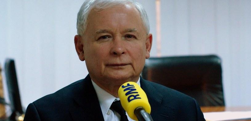 Jarosław Kaczyński był gościem Krzysztofa Ziemca /Michał Dukaczewski /RMF FM