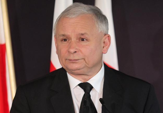 Jarosław Kaczyński, fot. J. Bednarczyk /PAP