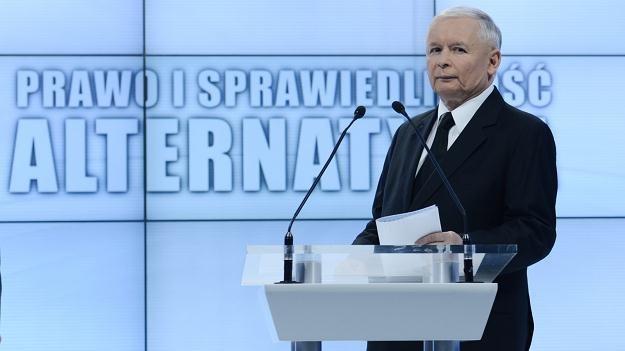 Jarosław Kaczyński/fot. R. Pietruszka /PAP