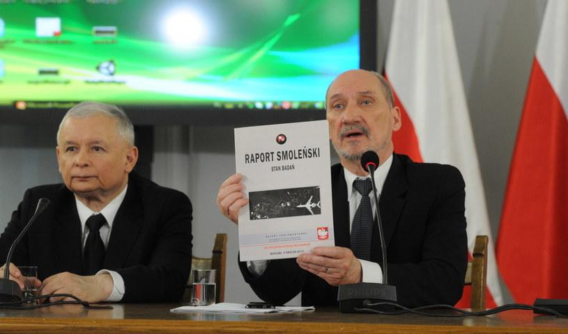 Jarosław Kaczyński i Antoni Macierewicz /Grzegorz Jakubowski /PAP