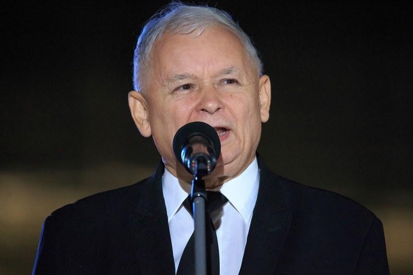 Jarosław Kaczyński komentuje milczenie Donalda Tuska /Michał Woźniak /East News