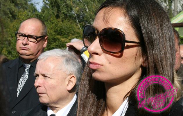 Jarosław Kaczyński, Marta Kaczyńska /Andrzej Wrzesiński /East News