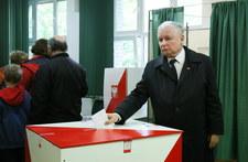 Jarosław Kaczyński o wyniku wyborów: Kładę się spać rano, bo świętuję