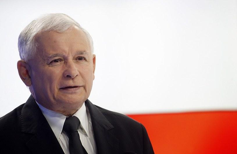 Jarosław Kaczyński, prezez PiS. /Adam Guz /Reporter