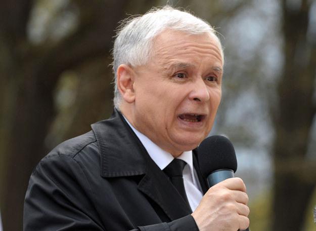 """Jarosław Kaczyński : """"To jest to niewątpliwie osobista odpowiedzialność Ewy Kopacz"""" fot. Janek Skarżyński /AFP"""