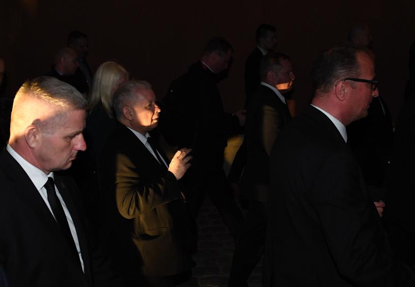 Jarosław Kaczyński w ostatnim Marszu Pamięci /Radek Pietruszka /PAP