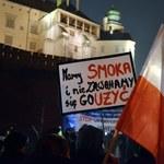 Jarosław Kaczyński został znieważony? Zawiadomienie ws. okrzyków pod Wawelem
