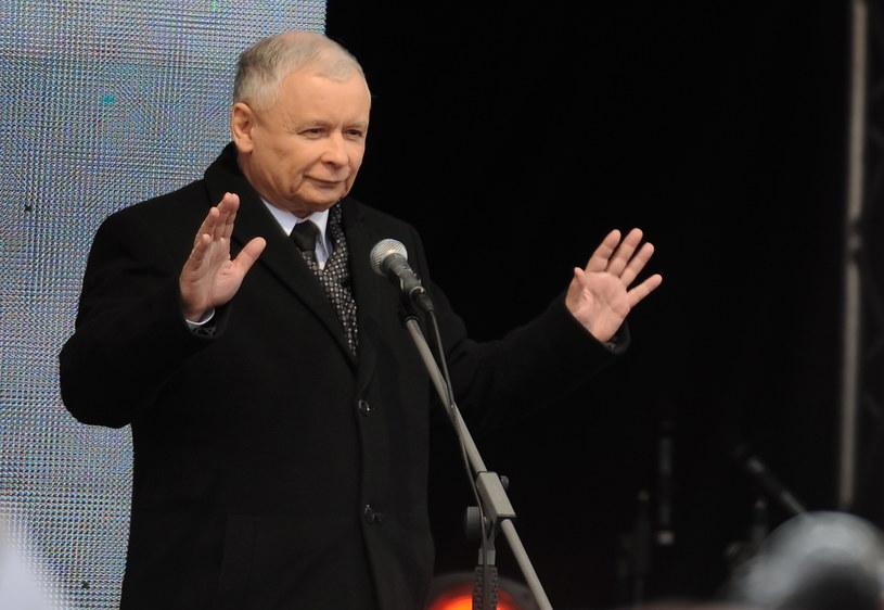 Jarosław Kaczyński /Jacek Turczyk /PAP