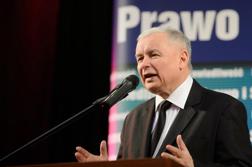Jarosław Kaczyński /Jakub Kaczmarczyk /PAP