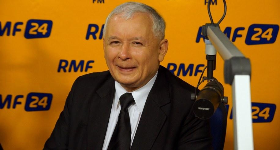 Jarosław Kaczyński /Michał Dukaczewski /RMF FM