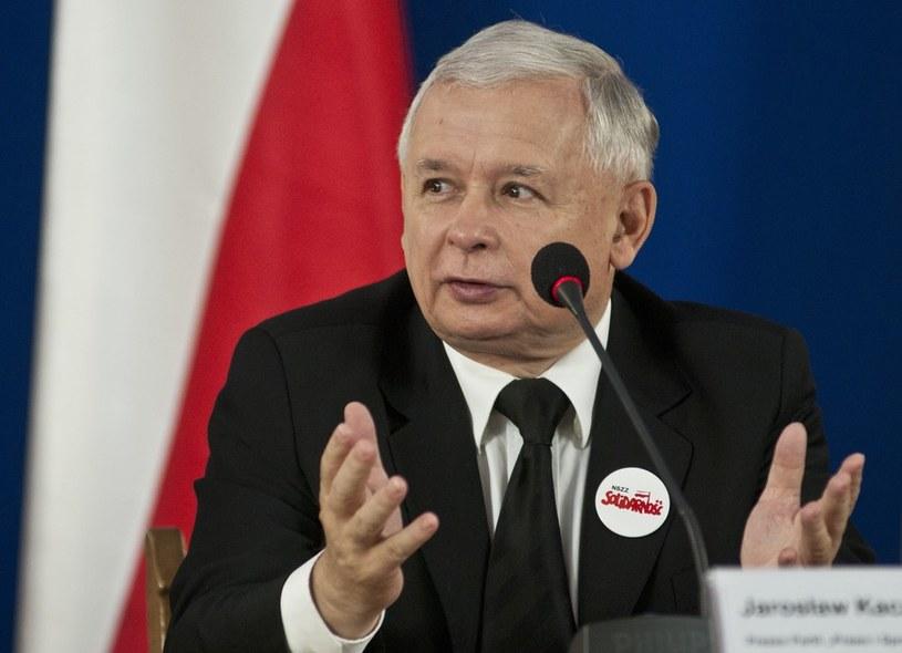 Jarosław Kaczyński /Justyna Rojek /East News
