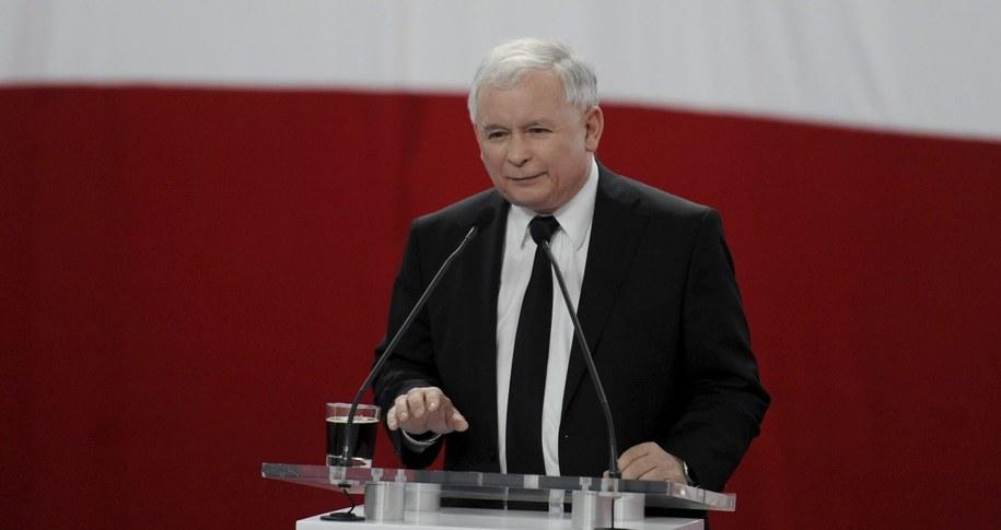 Jarosław Kaczyński /PAP/Bartłomiej Zborowski /PAP