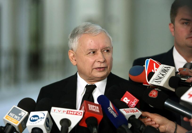 Jarosław Kaczyński /Tomasz Gzell /PAP
