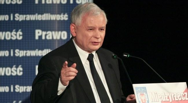 Jarosław Kaczyński /PAP/Lech Muszyński /PAP