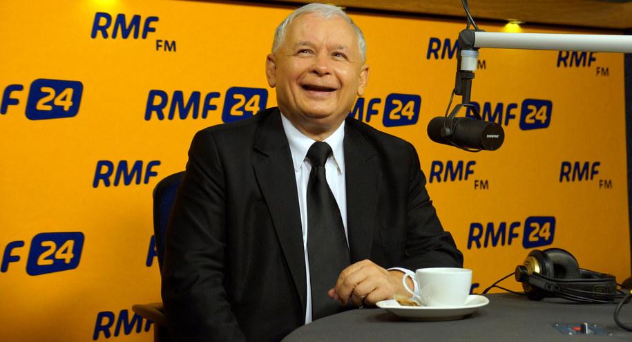 Jarosław Kaczyński /Michał Dukaczewski, RMF FM /Archiwum RMF FM