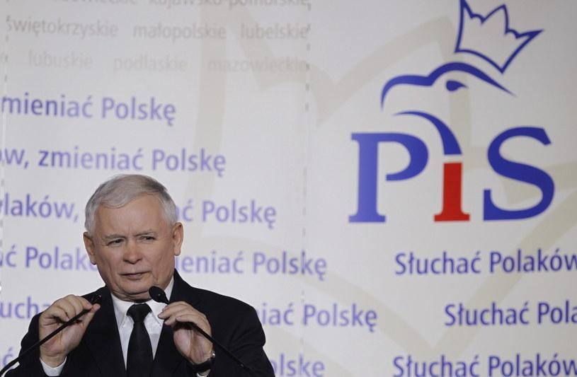 Jarosław Kaczyński /Andrzej Grygiel /PAP