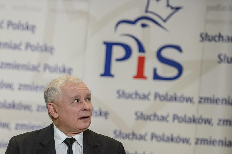 Jarosław Kaczyński /Wojciech Pacewicz /PAP